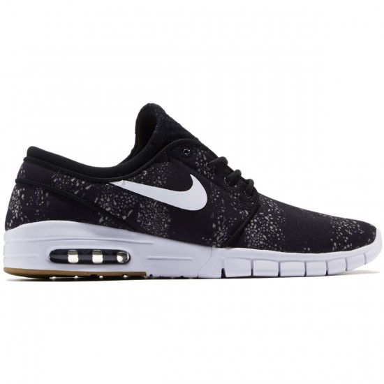 Nike Stefan Janoski Max Premium Shoes - Black/Olive/Gum/Brown - 8.0