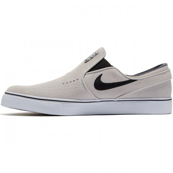 Nike Zoom Stefan Janoski Slip-On Shoes - Light Bone/White/Black - 8.0