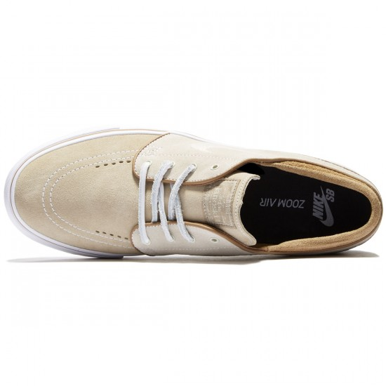 Nike Zoom Stefan Janoski Shoes - Reed Stone/Rocky Tan - 7.0