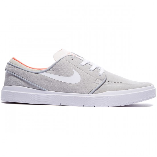 Nike SB Stefan Janoski Hyperfeel Shoes - Grey/Black/Crimson/White - 7.5