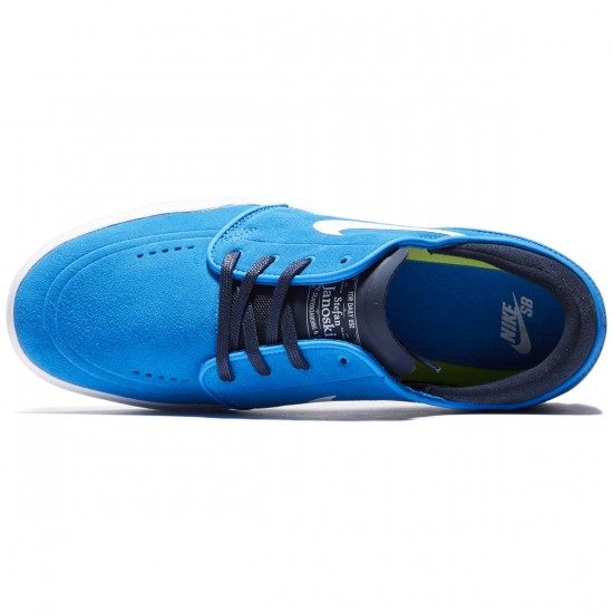 Nike SB Stefan Janoski Hyperfeel Shoes - Blue/Obsidian/White - 8.0