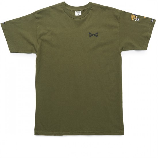 Crooks and Castles Rider T-Shirt - Military