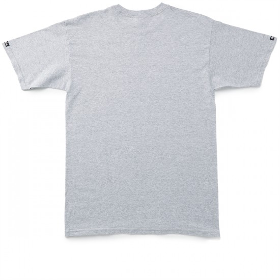 Crooks and Castles Rat Patrol T-Shirt - Heather Grey