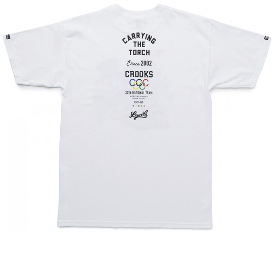 Crooks and Castles Torchbearer T-Shirt - White