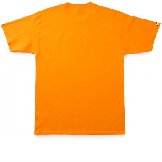 Crooks and Castles Crowned Core T-Shirt - Orange