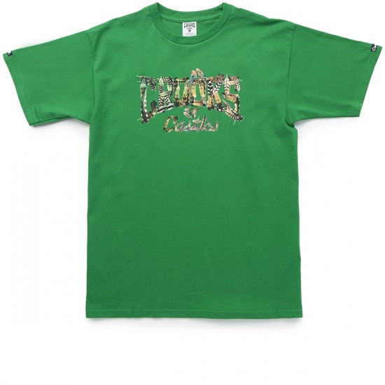 Crooks and Castles Crowned Core T-Shirt - Green