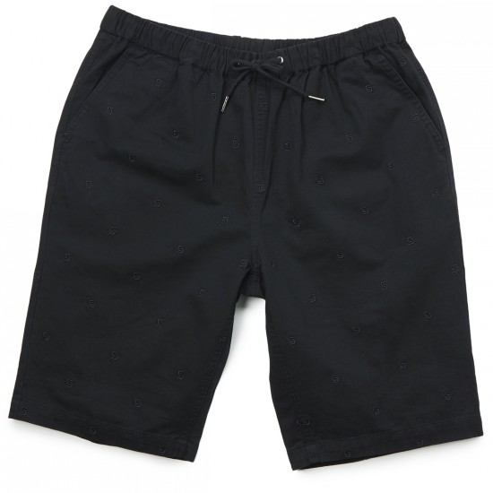 Crooks and Castles Infinity Chino Shorts - Black