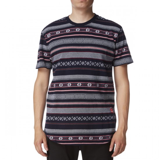 Crooks and Castles Lost Tribe Shirt - Navy Multi