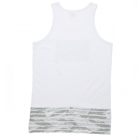 Crooks and Castles Amazon Shadow Tank Top - White