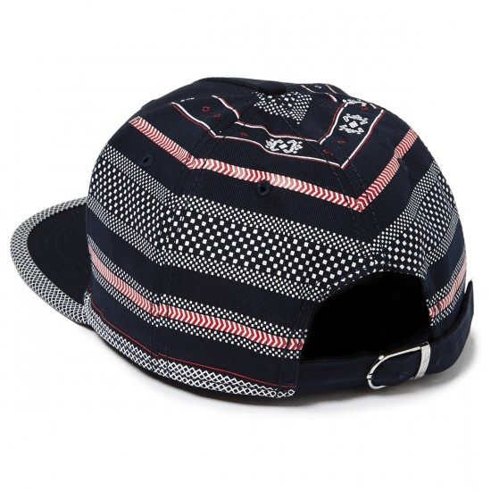 Crooks and Castles Lost Tribe Strapback Hat - Navy