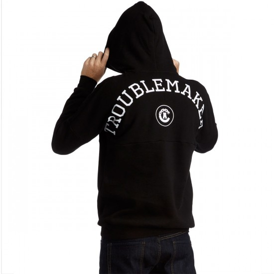 Crooks and Castles Troublemaker Hoodie - Black