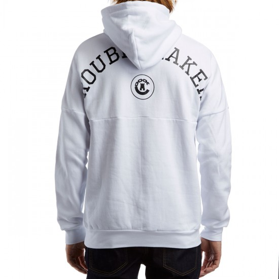 Crooks and Castles Troublemaker Hoodie - White