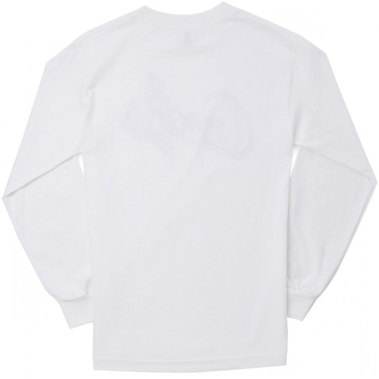 Crooks and Castles Artillery Long Sleeve T-Shirt - White