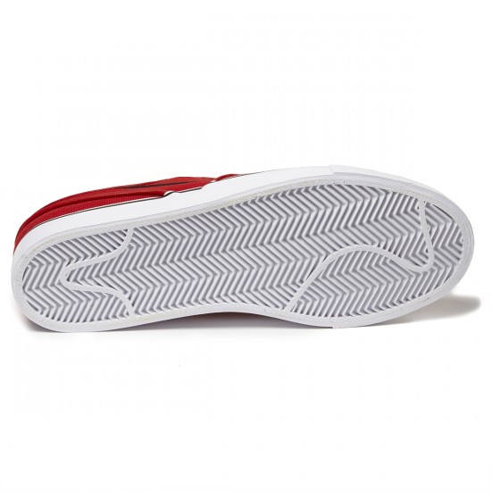 Nike Zoom Stefan Janoski Slip-On Shoes - Red/White/Black - 8.0