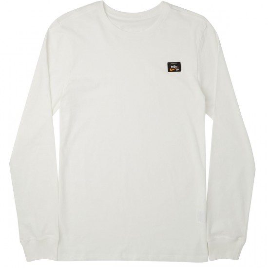 Nike SB X Numbers Long Sleeve T-Shirt - Ivory/Ivory