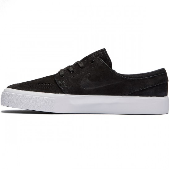 Nike SB Zoom Stefan Janoski HT Shoes - Black/Black White - 7.0