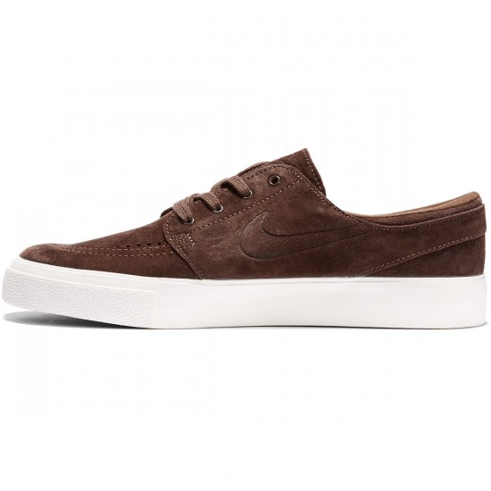 Nike SB Zoom Stefan Janoski HT Shoes - Baroque Brown/Baroque Brown/Ivory - 7.0