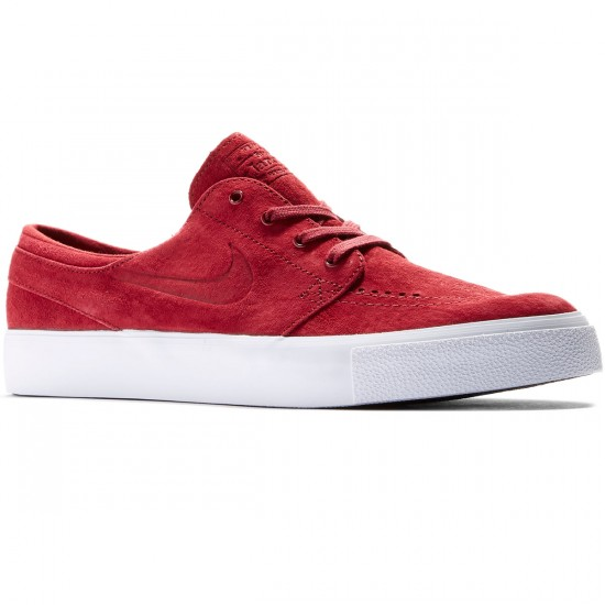 Nike SB Zoom Stefan Janoski HT Shoes - Team Red/Team Red/White - 9.0