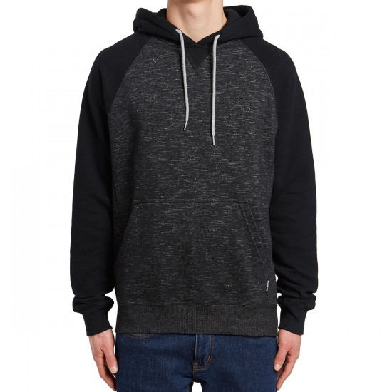 Billabong Balance Pullover Hoodie - Black Heather