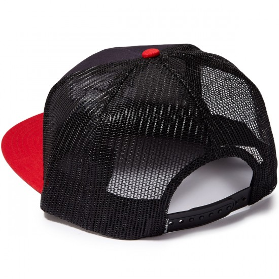 Billabong All Day Trucker Hat - Navy/Red
