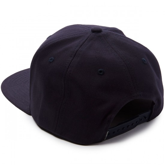 Billabong All Day Snapback Hat - Navy/Red
