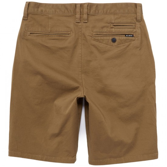 Billabong New Order 21 Shorts - Camel
