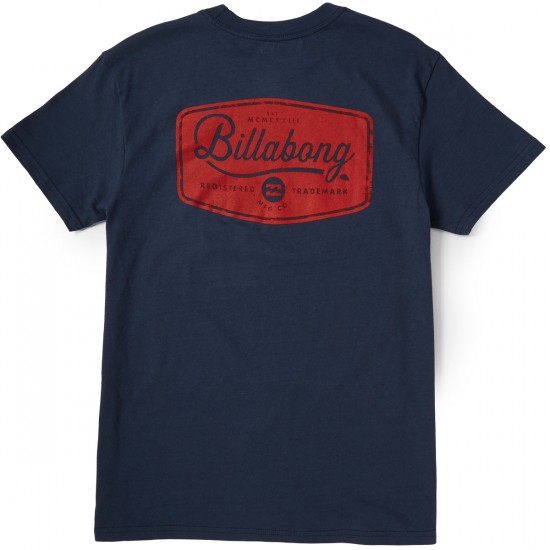 Billabong Pitstop T-Shirt - Navy