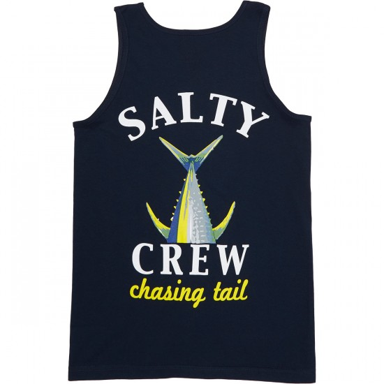 Salty Crew Chasing Tail Tank Top - Navy