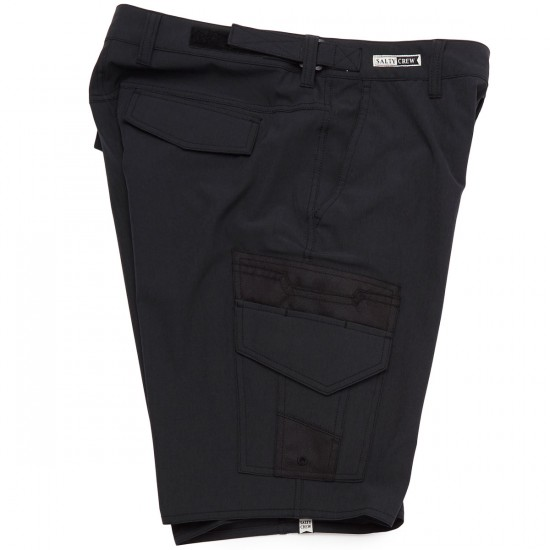 Salty Crew Deep Sea Boardshorts - Black