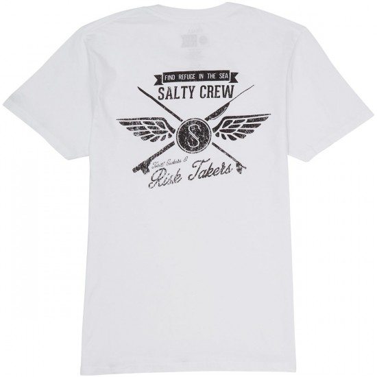 Salty Crew Crossed Up T-Shirt - White