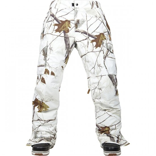 686 Authentic Infinty Shell Cargo Snowboard Pants - Realtree AP Snow