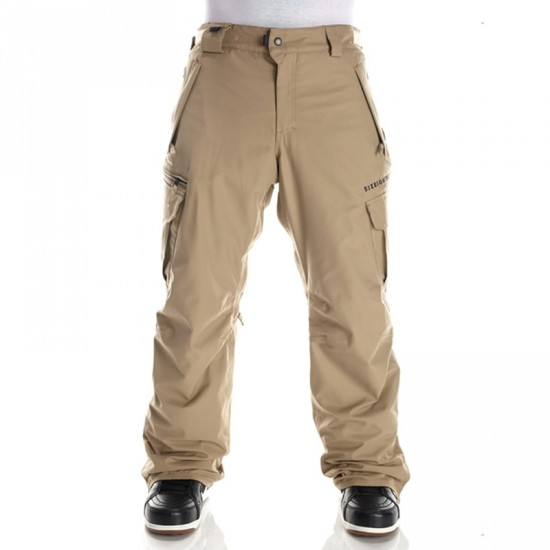 686 Authentic Smarty Cargo Snowboard Pants - Khaki