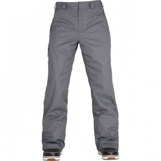 686 Authentic Standard Snowboard Pants - Steel