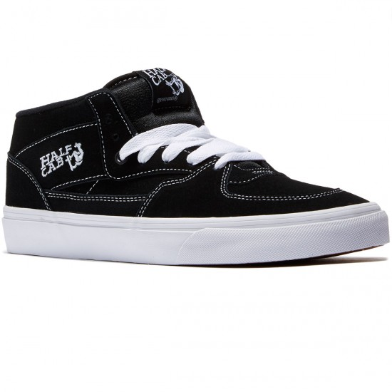 Vans Half Cab Shoes - Black - 6.0