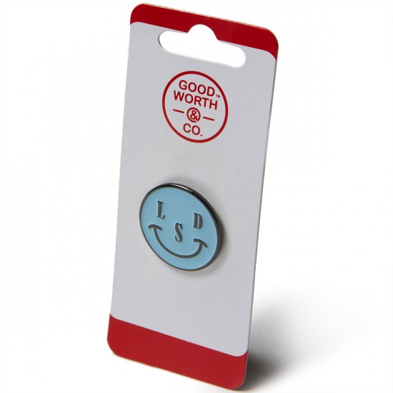 Good Worth Smile Pin - Blue