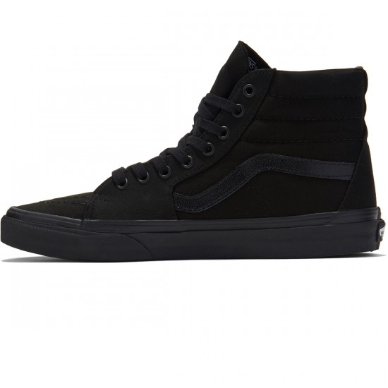 Vans Sk8-Hi Shoes - Black/Black/Black
