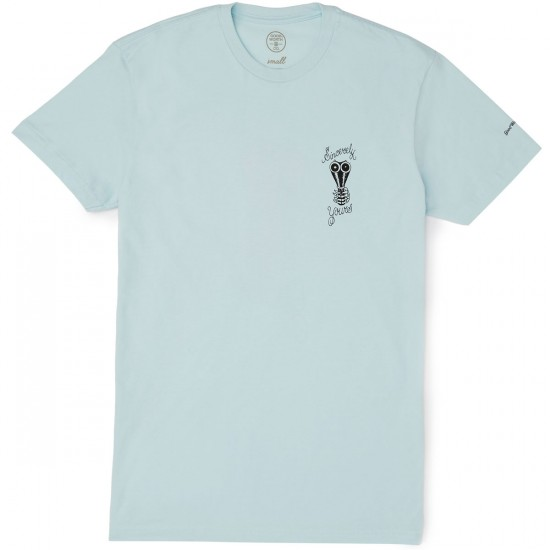 Good Worth Sincerely T-Shirt - Baby Blue