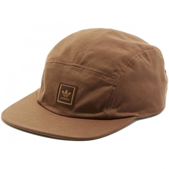 Adidas Originals Canvas Ticket 5 Panel Hat - Cardboard