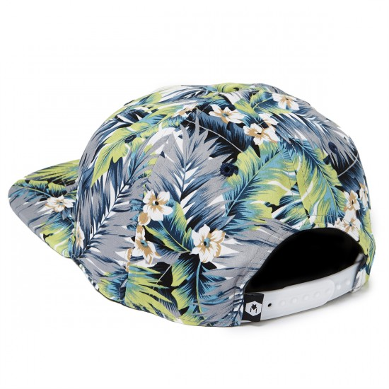 Wolfgang Canopy Snapback Hat - Tropical Floral