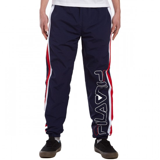 FILA Santo Pants - Peacoat/White/Chinese Red - LG