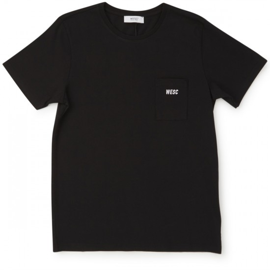 WeSC Buck T-Shirt - Black