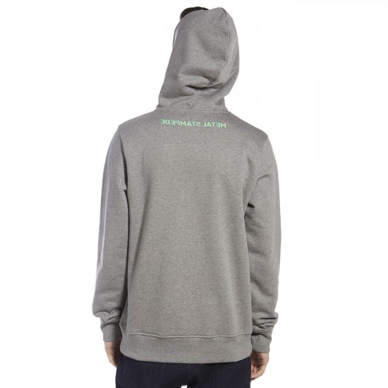 WeSC Were the Antelopes Sleep Hoodie - Grey Melange