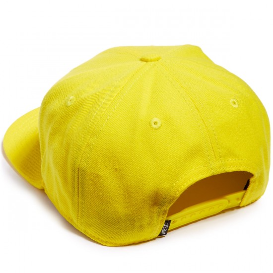 WeSC Snapback Hat - Wesc Yellow