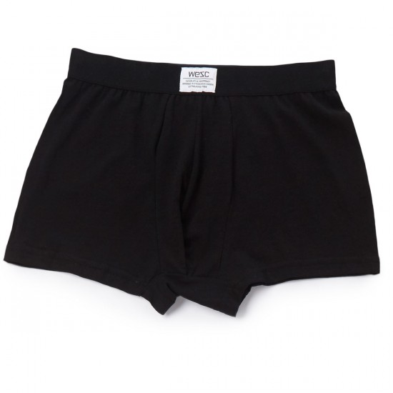 WeSC Conspirancy Boxer Brief 3-Pack - Black