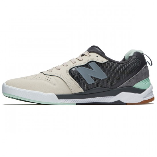 New Balance Numeric 868 Shoes - Grey/Mint - 8.5