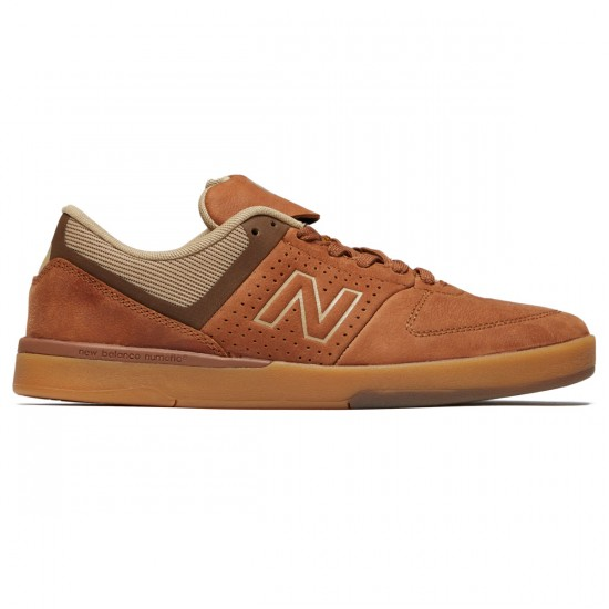New Balance Numeric 533 V2 Shoes - Brown/Gum - 8.0