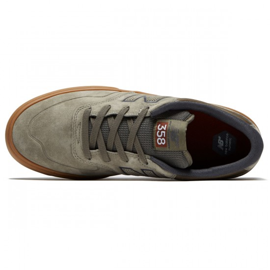 New Balance Arto 358 Shoes - Olive/Gum