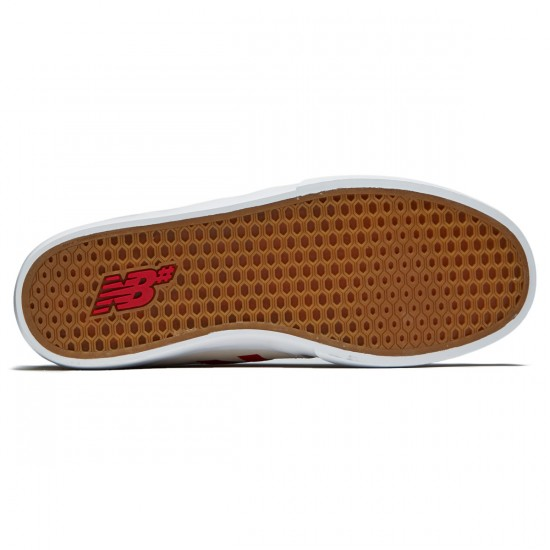 New Balance 345 Shoes - White/Red - 8.0