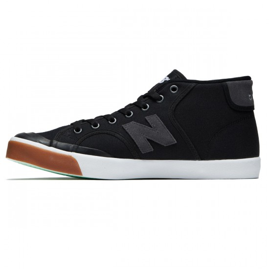 New Balance Numeric Pro Court 213 Shoes - Black/Gum - 8.0