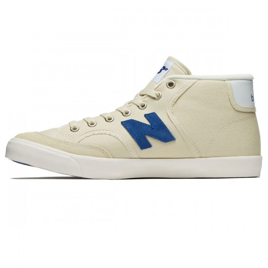 New Balance Numeric Pro Court 213 Shoes - Sand/Blue - 8.5